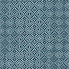 Blue/turquos Drapery and Upholstery Fabric by Duralee