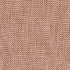 Coral Herringbone Drapery and Upholstery Fabric by Duralee