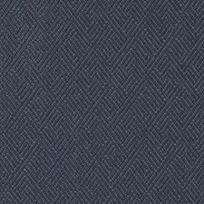 Marine Geometric Drapery and Upholstery Fabric by Duralee