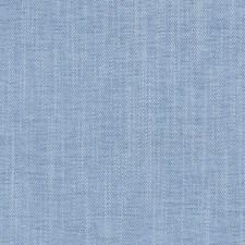Light Blue Herringbone Drapery and Upholstery Fabric by Duralee