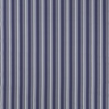 Indigo Stripe Drapery and Upholstery Fabric by Duralee
