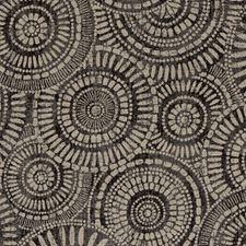 Ebony Medallion Drapery and Upholstery Fabric by Duralee