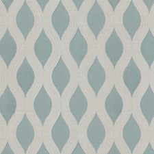 Bue Scroll Drapery and Upholstery Fabric by JF