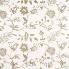 Linen Botanical Drapery and Upholstery Fabric by Threads