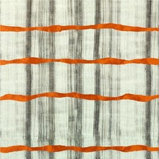 Sienna/Charcoal Silk Drapery and Upholstery Fabric by Threads