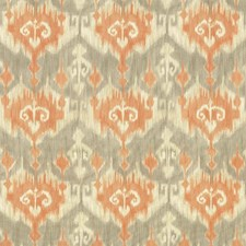 Orange Drapery and Upholstery Fabric by Kasmir