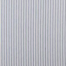 Navy Stripes Drapery and Upholstery Fabric by Clarke & Clarke