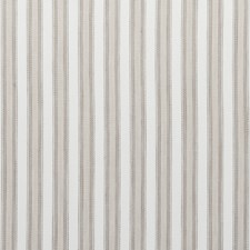 Oatmeal Stripes Drapery and Upholstery Fabric by Clarke & Clarke