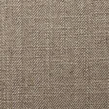 Mocha Herringbone Drapery and Upholstery Fabric by Clarke & Clarke