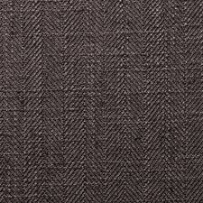 Charcoal Herringbone Drapery and Upholstery Fabric by Clarke & Clarke
