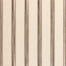 Spice Stripe w Drapery and Upholstery Fabric by Clarke & Clarke