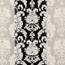 Raven Damask Drapery and Upholstery Fabric by Clarke & Clarke
