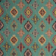 Aqua Weave Drapery and Upholstery Fabric by Clarke & Clarke