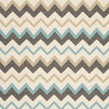 Mineral Herringbone Drapery and Upholstery Fabric by Clarke & Clarke