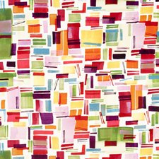 Multi Abstract Drapery and Upholstery Fabric by Clarke & Clarke