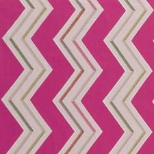 Fuchsia Weave Drapery and Upholstery Fabric by Clarke & Clarke