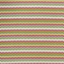 Raspberry/Apple Weave Drapery and Upholstery Fabric by Clarke & Clarke