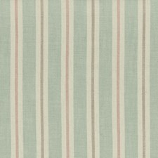 Mineral/Blush Stripes Drapery and Upholstery Fabric by Clarke & Clarke