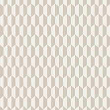 Cream/Oat Geometric Drapery and Upholstery Fabric by Cole & Son