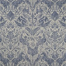Ink Drapery and Upholstery Fabric by Clarke & Clarke