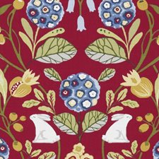 Rouge Drapery and Upholstery Fabric by Clarke & Clarke
