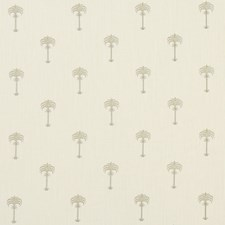 Champagne/Ivory Drapery and Upholstery Fabric by Clarke & Clarke