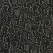 Noir Geometric Drapery and Upholstery Fabric by Kravet
