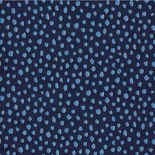 Navy Animal Skins Drapery and Upholstery Fabric by Kravet