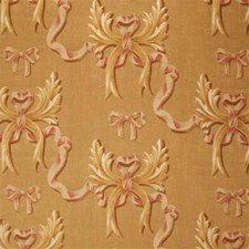 Sand/Rose Print Drapery and Upholstery Fabric by Mulberry Home