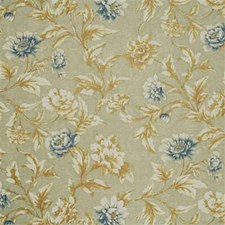 Aqua/Blue Drapery and Upholstery Fabric by Mulberry Home
