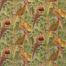 Fig Multi Print Drapery and Upholstery Fabric by Mulberry Home