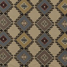Sand/Slate Print Drapery and Upholstery Fabric by Mulberry Home