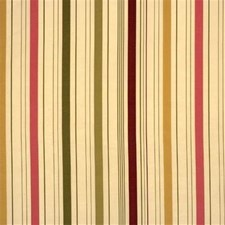 Cr/Pk/G Stripes Drapery and Upholstery Fabric by Mulberry Home