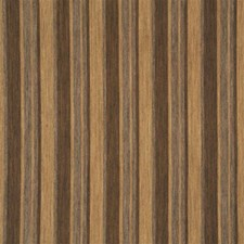 Chocolate Stripes Drapery and Upholstery Fabric by Mulberry Home