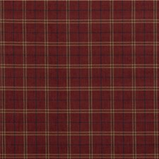 Red Weave Drapery and Upholstery Fabric by Mulberry Home