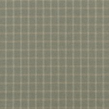 Soft Lovat Check Drapery and Upholstery Fabric by Mulberry Home
