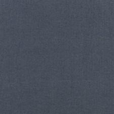 Indigo Herringbone Drapery and Upholstery Fabric by Mulberry Home