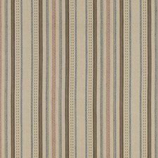 Denim Stripes Drapery and Upholstery Fabric by Mulberry Home