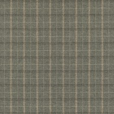 Dove Plaid Drapery and Upholstery Fabric by Mulberry Home