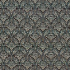 Moody Blue Drapery and Upholstery Fabric by Kasmir