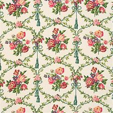 Framboise Print Drapery and Upholstery Fabric by Kravet