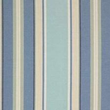 Light Blue/Beige Stripes Drapery and Upholstery Fabric by Kravet
