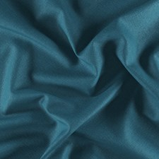 Blue/Teal Plain Drapery and Upholstery Fabric by JF