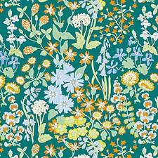 Emerald Multi Drapery and Upholstery Fabric by Scalamandre
