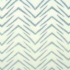 White/Sky Contemporary Drapery and Upholstery Fabric by Groundworks