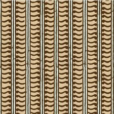 Choco/Aqua Contemporary Drapery and Upholstery Fabric by Groundworks