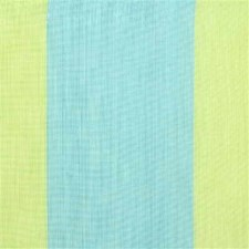 Aqua/Lime Stripes Drapery and Upholstery Fabric by Groundworks