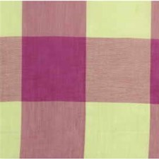 Pink Plaid Drapery and Upholstery Fabric by Groundworks