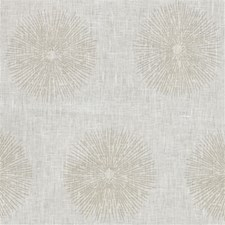 Ivory/Beige Print Drapery and Upholstery Fabric by Groundworks