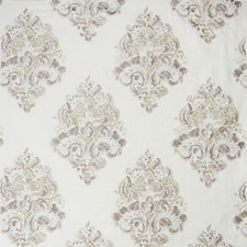 Taupe Damask Drapery and Upholstery Fabric by Groundworks